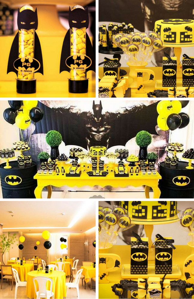 Batman Party Inspirations Birthday Party Ideas Amp Themes