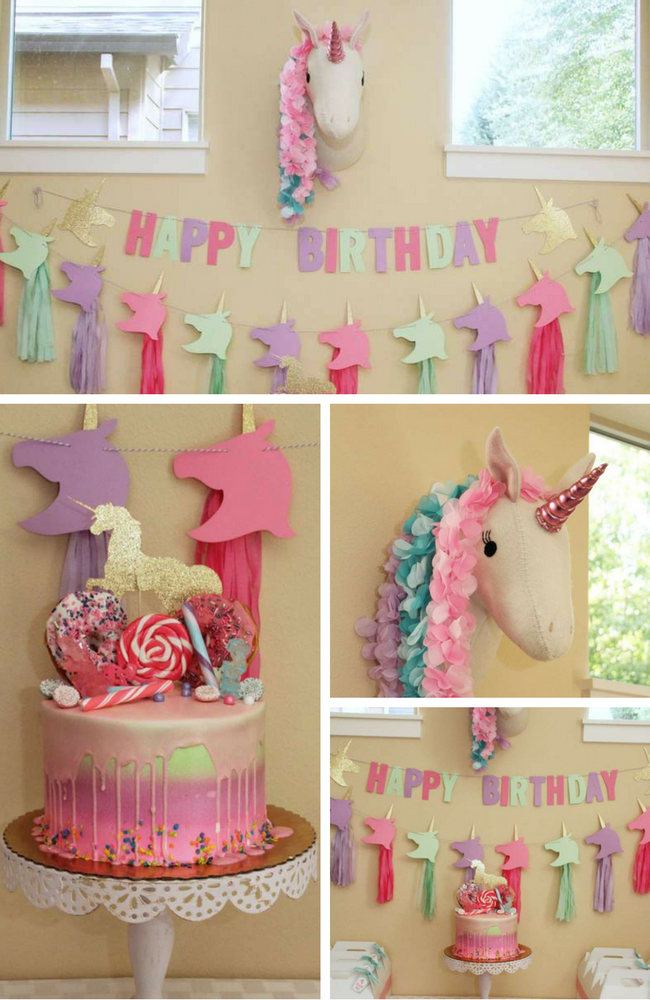 unicorn party inspirations