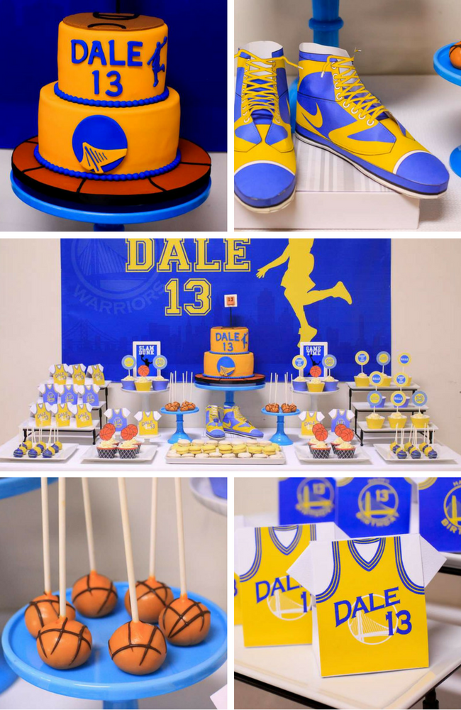 Basketball Party Inspirations - Birthday Party Ideas & Themes