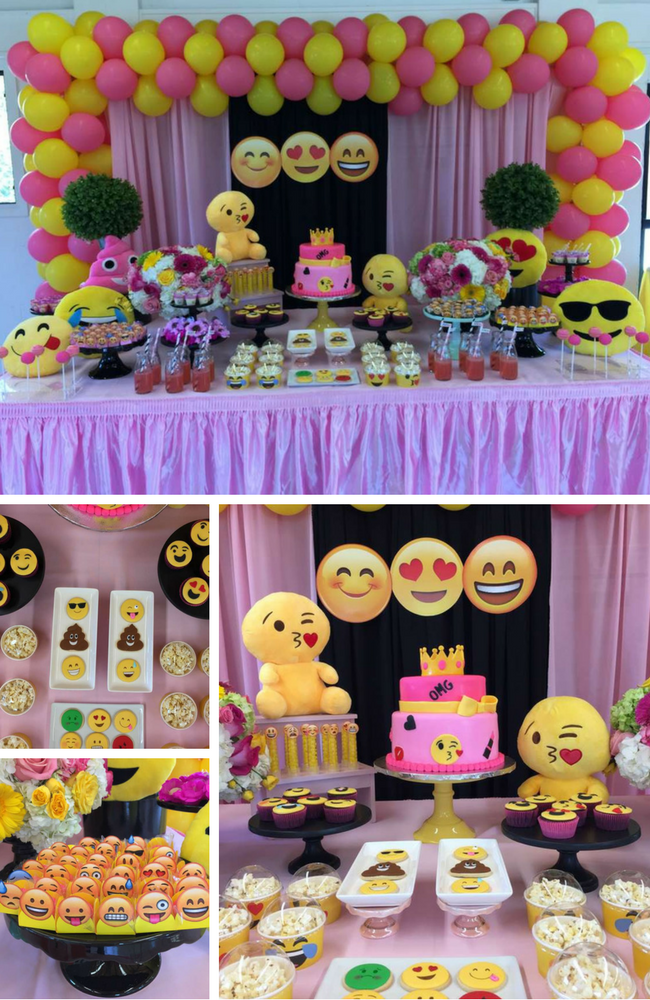 Emoji Birthday Party Ideas Games