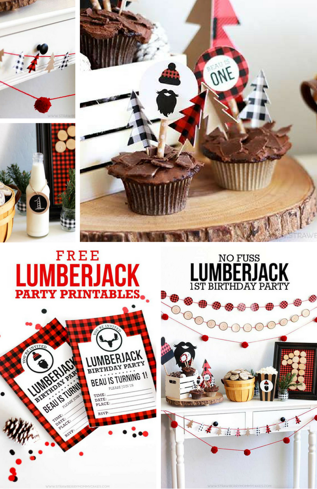 Lumberjack Party Inspirations Birthday Party Ideas Amp Themes