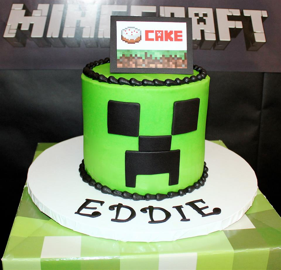 Miraculous Minecraft Creeper Birthday Party Birthday Party Ideas For Kids Personalised Birthday Cards Paralily Jamesorg