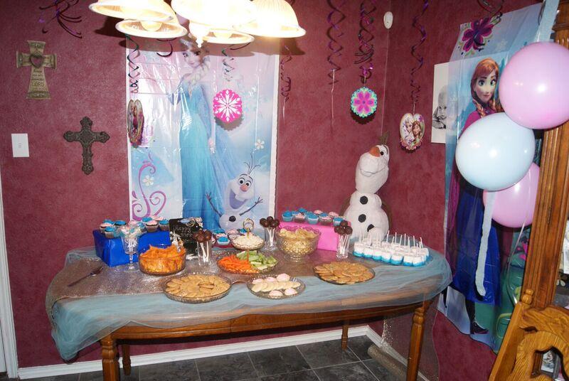 Frozen 7th Birthday Party - Birthday Party Ideas & Themes