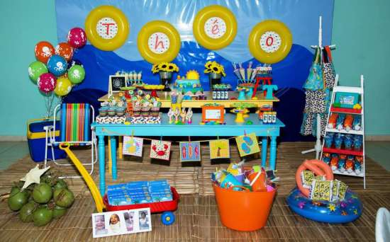 beach theme party birthday birthday ideas amp themes 12497