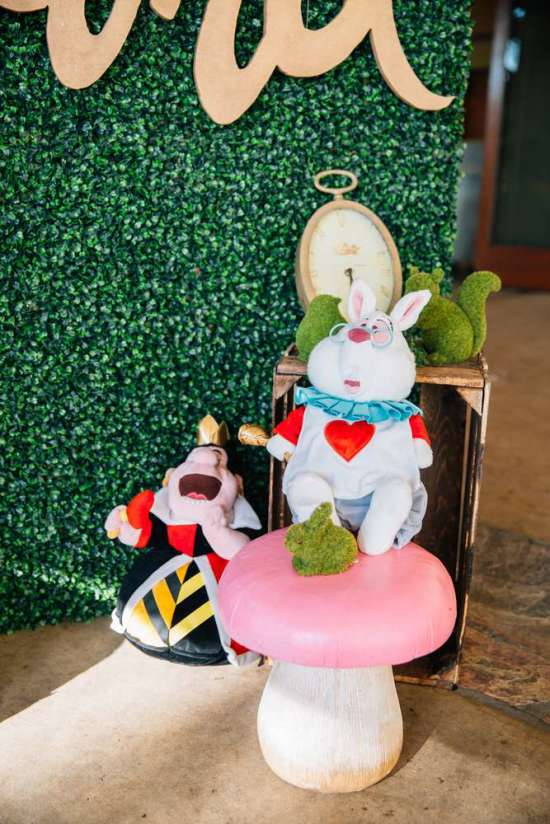 ariana-in-alice-in-wonderland-first-birthday-party props