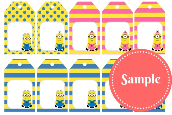 picture relating to Free Printable Thank You Tags for Birthdays known as Totally free Minion Social gathering Printable - Birthday Social gathering Tips Themes
