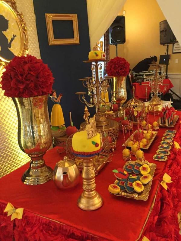 Classic Snow White Birthday Party Birthday Party Ideas